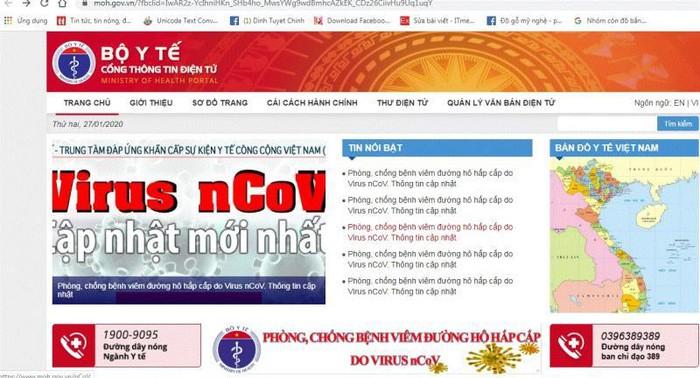 eDoctor - Thêm đường dây nóng Bộ Y tế tư vấn phòng chống dịch nCoV 1900 9095