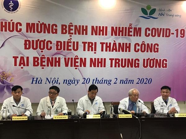 eDoctor - Bệnh nhi 3 tháng tuổi nhiễm COVID-19 bé nhất Việt Nam khỏi bệnh