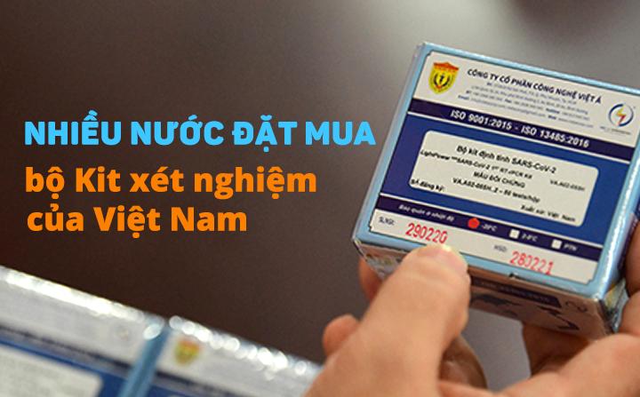 eDoctor - Việt Nam làm chủ cả 2 phương pháp xét nghiệm, nhiều nước đặt mua