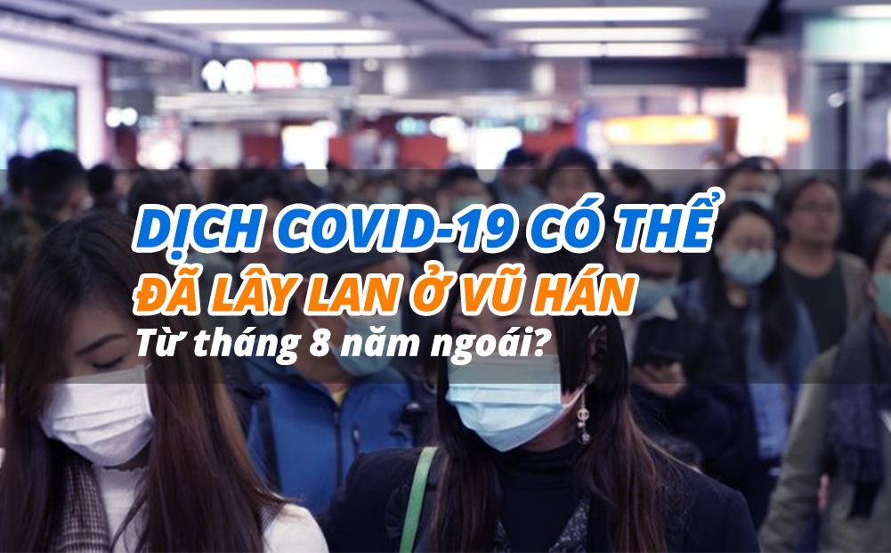 eDoctor - Dịch COVID-19 có thể đã lây lan ở Vũ Hán từ tháng 8 năm ngoái?
