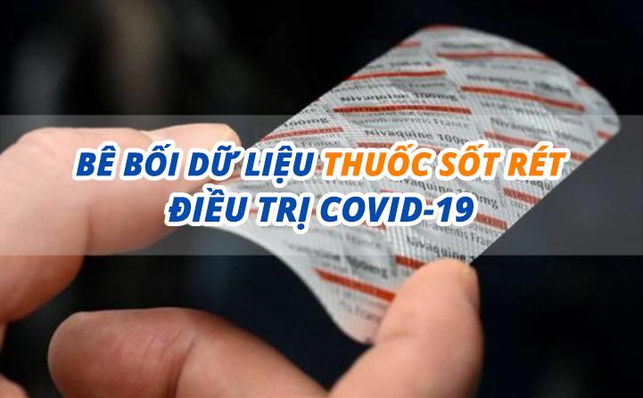 eDoctor - Bê bối dữ liệu thuốc sốt rét điều trị Covid-19