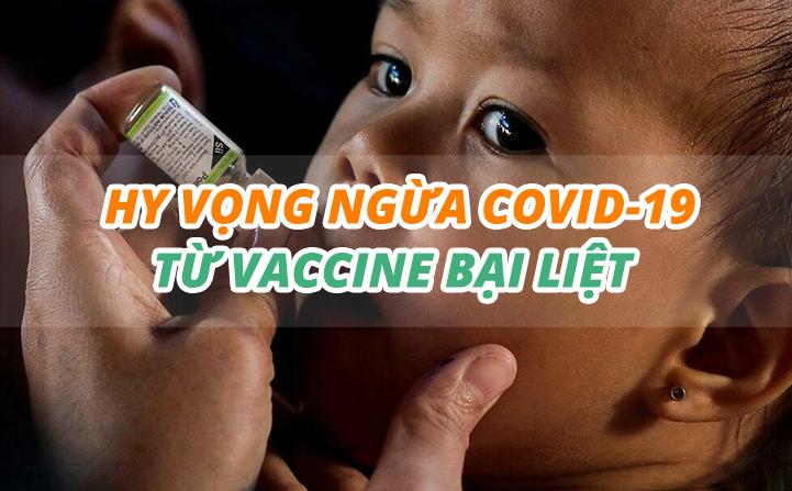eDoctor - Hy vọng ngừa Covid-19 từ vaccine bại liệt