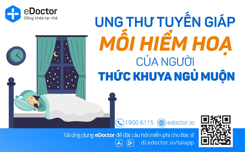 eDoctor - Thức khuya - Mối hiểm hoạ với sức khoẻ