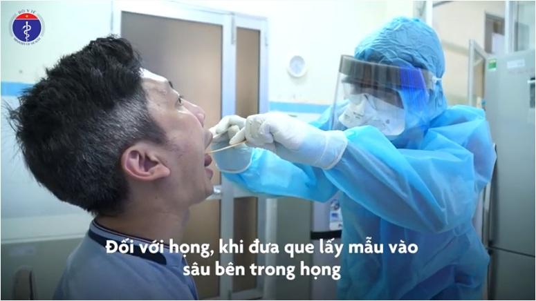 eDoctor - [Video] Cách lấy mẫu xét nghiệm nCoV của Bộ Y tế