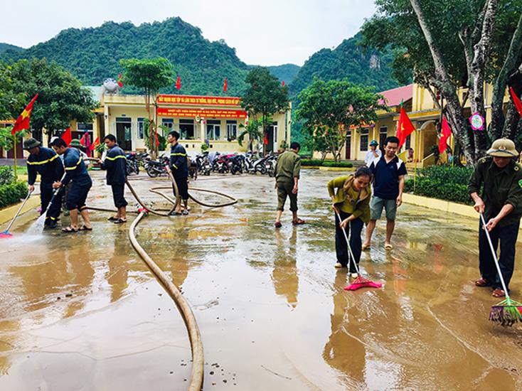 Bí quyết phòng tránh dịch bệnh trong mùa mưa bão