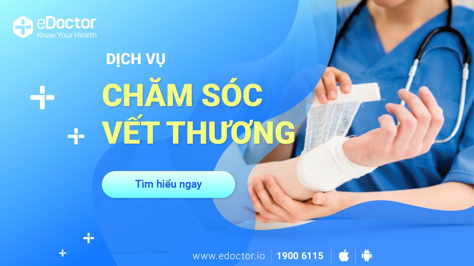 eDoctor - Cẩn trọng khi chăm sóc vết thương: Hạn chế dùng oxy già với vết thương sạch