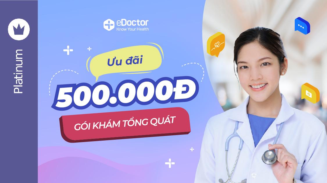 eDoctor - eDoctor đã có mặt tại Grab Reward, nhanh tay đổi điểm nhận voucher trị giá 500.000 VND