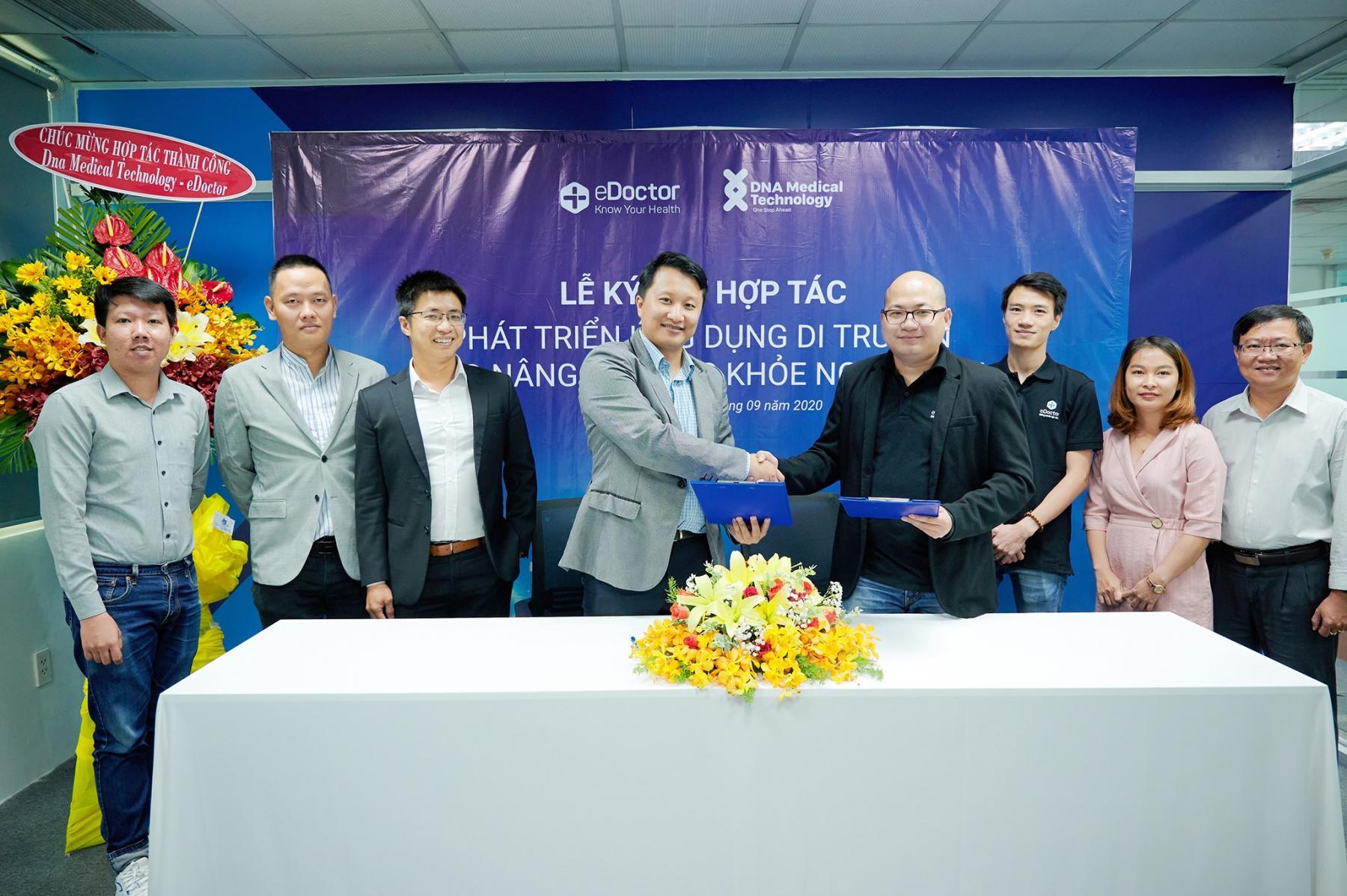 DNA Medical Technology và eDoctor ký kết hợp tác